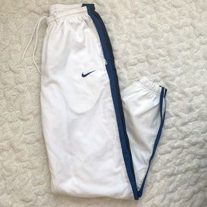Vintage Nike Windbreaker track pants pants size M